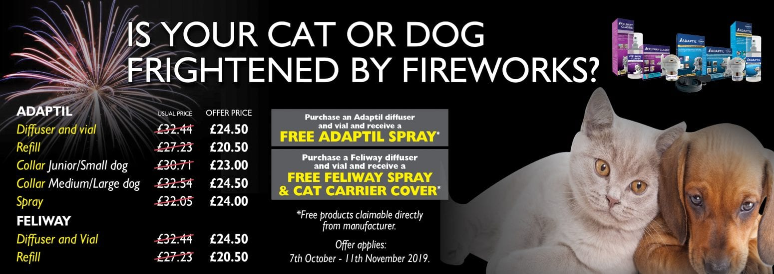 Adaptil and Feliway Offer